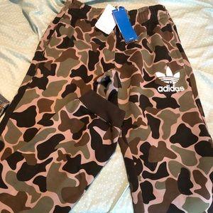 Men's adidas Camo sweat pants